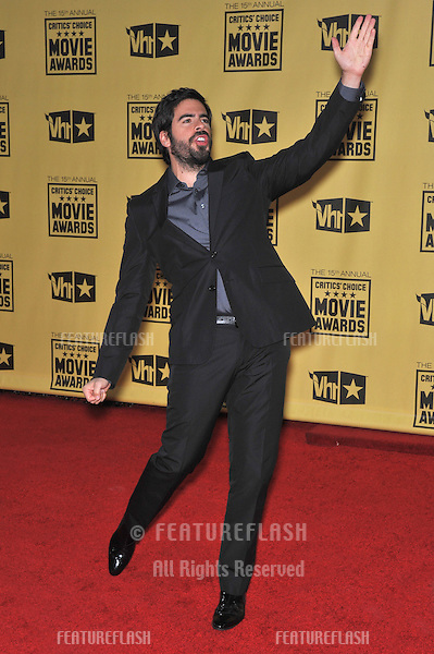 Eli Roth at the 15th Annual Critics' Choice Movie Awards, presented by the Broadcast Film Critics Association, at the Hollywood Palladium..January 15, 2010  Los Angeles, CA.Picture: Paul Smith / Featureflash