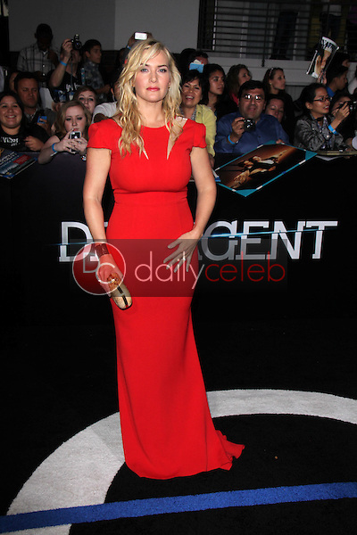 "Kate Winslet<br /> at the ""Divergent"" Los Angeles Premiere, Regency Bruin Theatre, Westwood, CA 03-18-14<br /> Dave Edwards/DailyCeleb.com 818-249-4998"
