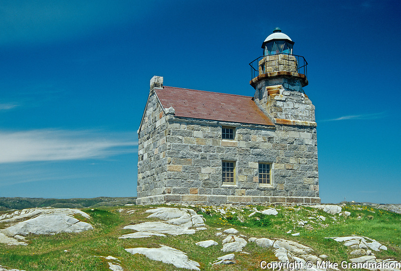 Rose Blanche Lighthouse - last granite lighthouse<br /> Rose Blanche <br /> Newfoundland <br /> Canada