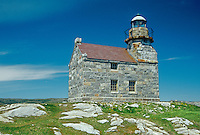 Rose Blanche Lighthouse - last granite lighthouse<br /> Rose Blanche <br /> Newfoundland <br /> Canada