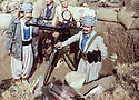 Iraq 1979.In Tujela, Azad Sagerma and the douchka.Irak 1979.A Tujela,Azad Sagerma avec une douchka