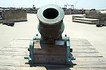 This 15 inch mortar was constructed in Spain in 1724.  Its maximum range is 2,100 yards.  It was captured by the United States in the Spanish American War.  It is part of the Yale Univerisity Art collection on indefinite loan to the Castillo De San Marcos in St. Augustine, Florida.