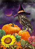 GIORDANO, CUTE ANIMALS, LUSTIGE TIERE, ANIMALITOS DIVERTIDOS, Halloween, paintings+++++,USGI2824,#AC#