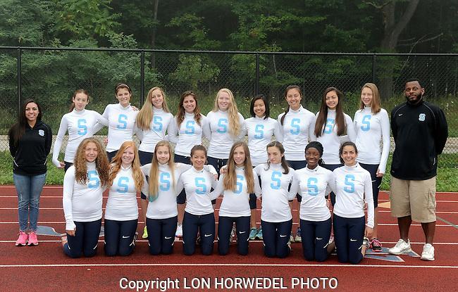 Skyline High School girl's cross country team, 2014.