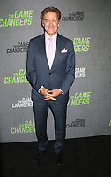 September 09, 2019 Dr. Mehmet Oz attend the premiere of The Game Changers  at the Regal Battery Park in New York. September 09, 2019 <br /> CAP/MPI/RW<br /> ©RW/MPI/Capital Pictures