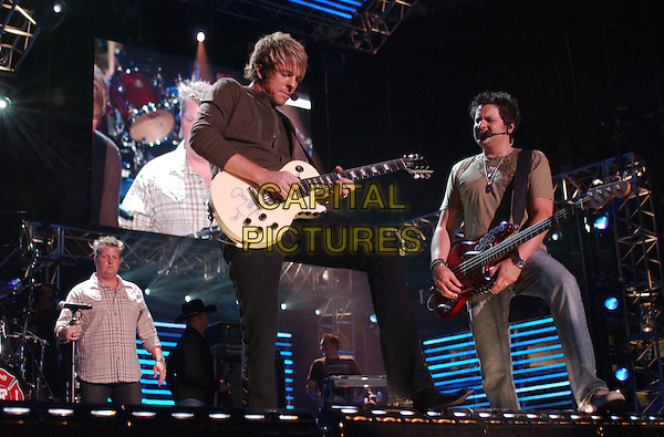 RASCAL FLATTS.2007 CMA Music Festival held at LP Field,Nashville, Tennessee, USA, 09  June 2007..full length live on stage concert country performing band guitars.CAP/ADM/LF.©Laura Farr/AdMedia/Capital Pictures.