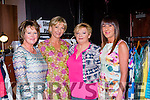 Annete Corridan, Breda Walshe, Kay Doona, Karen Bruton at the St Pauls basketball club fashion show in the Killarney Racecourse on Friday night