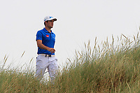 Ricardo Gouveia (POR) on the 7th during Round 3 of the Dubai Duty Free Irish Open at Ballyliffin Golf Club, Donegal on Saturday 7th July 2018.<br /> Picture:  Thos Caffrey / Golffile
