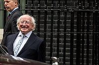 09.04.2014 - The President of Ireland, Michael D. Higgins, Visits 10 Downing Street
