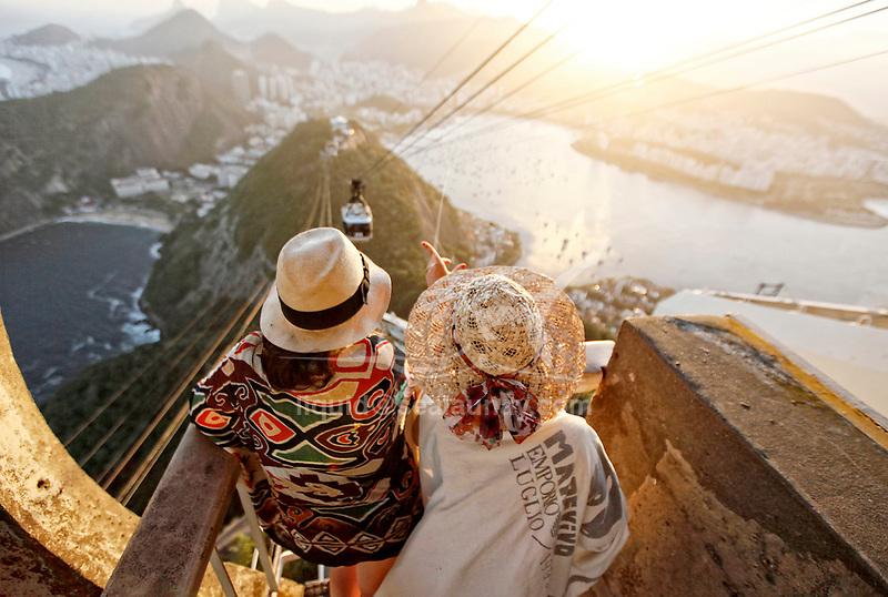 """Sugarloaf Mountain P""""o de AÁucar, Rio de Janeiro, Brazil."""