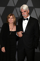 HOLLYWOOD, CA - NOVEMBER 11: Katherine Ross, Sam Elliott at the AMPAS 9th Annual Governors Awards at the Dolby Ballroom in Hollywood, California on November 11, 2017. Credit: David Edwards/MediaPunch /NortePhoto.com