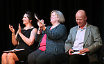 From left, Angela Holt, Nancy Olsen and John Kinkella participate in a ceremony as more than 100 students received their High School Equivalency during a Western Nevada College ceremony in Carson City, Nev., on Monday, June 19, 2017. <br />Photo by Cathleen Allison/Nevada Photo Source