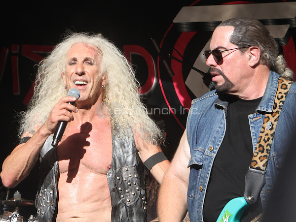 NEW YORK, NY-September 02: Dee Snider, Mike Portnoy of Twisted Sister performed on Fox & Friends All-American Summer Concert Series in New York. NY September 02, 2016. Credit:RW/MediaPunch
