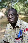 """BURKINA FASO , Koudougou, FRANCOIS RAMDÉ aus DORI, Gründer der Initiative UFC """"Union Fraternelle des Croyants"""""""