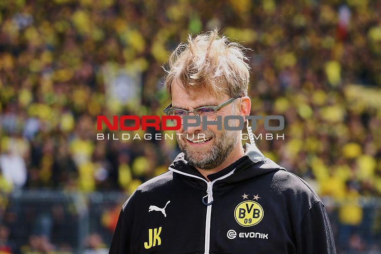 09.05.2015, Signal Iduna Park, Dortmund, GER, im Bild J&uuml;rgen Klopp (Trainer Borussia Dortmund)<br /> <br /> Foto &copy; nordphoto / Rauch