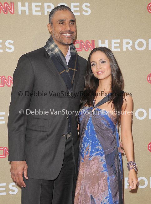 Eliza Dushku and Rick Fox attends CNN Heroes - An Allstar Tribute held at The Shrine Auditorium in Los Angeles, California on December 11,2011                                                                               © 2011 DVS / Hollywood Press Agency