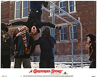 A Christmas Story (1983)<br /> Lobby card with Peter Billingsley, Scott Schwartz, Rd Robb, Zack Ward &amp; Yano Anaya<br /> *Filmstill - Editorial Use Only*<br /> CAP/KFS<br /> Image supplied by Capital Pictures