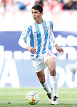 Malaga CF's Pablo Fornals during La Liga match. April 23,2016. (ALTERPHOTOS/Acero)
