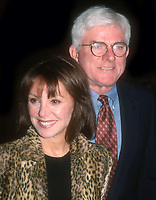 Marlo Thomas and Phil Donahue 1998<br /> Photo By John Barrett/PHOTOlink