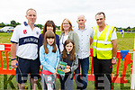 Enjoying the Castleisland Races on Sunday.  <br /> Front l-r, Chloe and Abbie O&rsquo;Donohgue.<br /> Back l-r, Patrick, Triona and Martina O&rsquo;Donoghue, Martin Crowley and Liam O&rsquo;Connor.