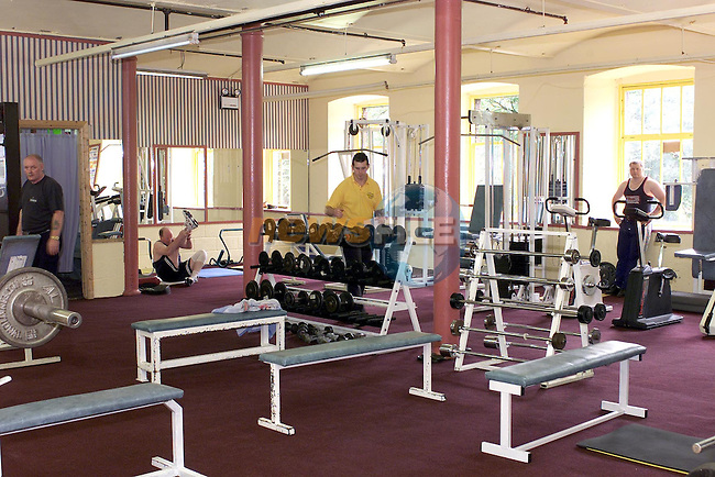Robbie Corr in the West gate Fitness Centre in Drogheda.Pic Fran Caffrey Newsfile..(For Sue Leonard Feel Good Mag)