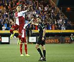 James Tavernier celebrates after scoring