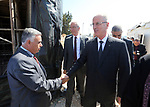 Palestinian Prime Minister Rami Hamdallah attends the opening of the headquarters of the Central Election Commission, in the West Bank city of Ramallah on August 9, 2018. Photo by Prime Minister Office