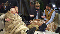 Wayne Sleep, Shane Jenek - AKA Courtney Act, Amanda Barrie and Andrew Brady.<br /> Celebrity Big Brother 2018 - Day 10<br /> *Editorial Use Only*<br /> CAP/KFS<br /> Image supplied by Capital Pictures
