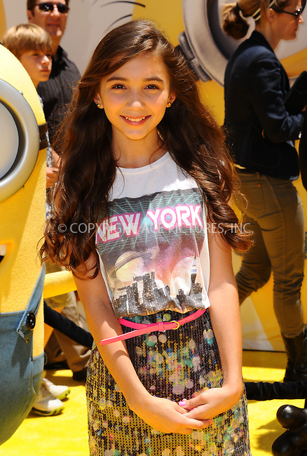WWW.ACEPIXS.COM<br /> <br /> June 22 2013, New York City<br /> <br /> Rowan Blanchard arriving at the 'Despicable Me 2' premiere at Universal CityWalk on June 22, 2013 in Universal City, California.<br /> <br /> <br /> By Line: Peter West/ACE Pictures<br /> <br /> <br /> ACE Pictures, Inc.<br /> tel: 646 769 0430<br /> Email: info@acepixs.com<br /> www.acepixs.com