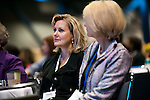 Dr. Christie Leedy sits next to Ginger Howard (r) at the Eleventh Annual Texas Conference for Women