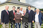 Minister Brian Hayes hands over the keys for the former Garda Station in Beaufort to new owners Tim Moriarty  Chairman of Beaufort Community Council on Wednesday morning l-r: Jim Finnucane, Brendan Griffin TD, Minister Hayes, Jack McGrath former Sargent, Tim Moriarty,Cllr Patrick Connor-Scarteen and Johnny O'Connor