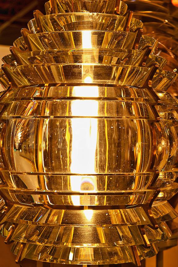 Fresnel Lens, Maine Lighthouse Museum, Rockland, Maine, ME, USA