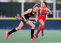 Maddie Doar. International Hockey Warmup game, Blacksticks women v Chile.Auckland Grammar Hockey Turf, Auckland, New Zealand. Thursday 13 December 2018. Photo: Simon Watts/Hockey NZ