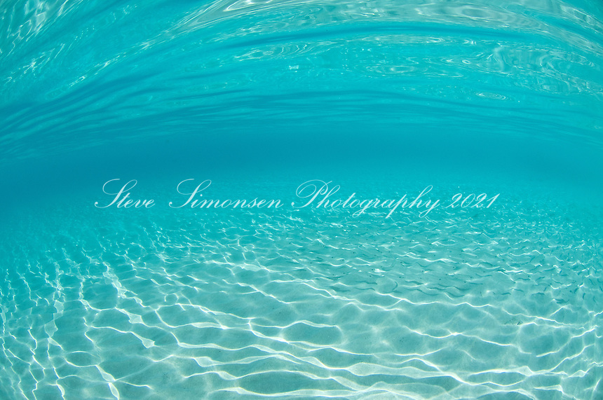 Clear Caribbean water<br /> Cinnamon Bay<br /> Virgin Islands National Park<br /> St. John, U.S. Virgin Islands