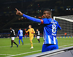 03.11.2018, OLympiastadion, Berlin, GER, DFL, 1.FBL, Hertha BSC VS. RB Leipzig, <br /> DFL  regulations prohibit any use of photographs as image sequences and/or quasi-video<br /> <br /> im Bild Salomon Kalou  (Hertha BSC Berlin #8)<br /> <br />       <br /> Foto © nordphoto / Engler