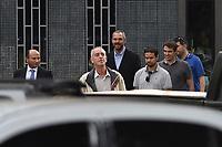 BRASÍLIA, DF, 21.06.2017 - DEPOIMENTO-JOESLEY BATIST - Durante depoimento do empresário, Joesley Batista, a Polícia Federal abordou os seguranças que o acompanhavam, pois os mesmos portavam armas e se identificaram como policiais civis de São Paulo. A Polícia Federal diz que é ilegal policial civil fazer segurança privada. (Foto: Ricardo Botelho/Brazil Photo Press/Folhapress)