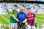 The Kerry Captain in the All Ireland Football Final in Croke Park on Sunday.