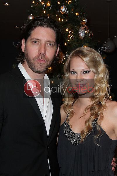 James Barbour, Tara Voight<br /> at the James Barbour Holiday Concert, Renaissance Hotel, Hollywood, CA 12-16-11<br /> David Edwards/DailyCeleb.com 818-249-4998