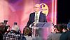 UKIP Leadership Announcement <br /> at the Emmanuel Centre, Westminster, London, Great Britain <br /> 28th November 2016 <br /> <br /> <br /> <br /> <br /> Paul Nuttall <br /> new UKIP Leader <br /> <br /> Photograph by Elliott Franks <br /> Image licensed to Elliott Franks Photography Services