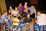 DRAMA: Transition Year students at Causeway Comprehensive Secondary School who are to take part in a national drama competition, clockwise from left: Darragh Connolly, Rachel Cantillon, Hannah O'Sullivan, Michael Horgan, April O'Rourke, Sarah Jane Pierse, Oscar Brophy, Patrice Slattery.