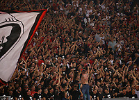 Milan fans  during the  Coppa Italia ( Tim Cup) final soccer match,  Ac Milan  - Juventus Fc       at  the Stadio Olimpico in Rome  Italy , 09 May 2018