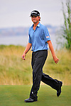29 August 2009: Webb Simpson walks up to the 14th green during the third round of The Barclays PGA Playoffs at Liberty National Golf Course in Jersey City, New Jersey.