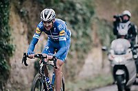 Pieter SERRY (BEL/Deceuninck-Quick Step)<br /> <br /> 51th Le Samyn 2019 <br /> Quaregnon to Dour (BEL): 200km<br /> <br /> ©kramon