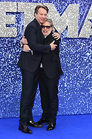 "LONDON, UK. May 20, 2019: Giles Martin and Dexter Fletcher arriving for the ""Rocketman"" UK premiere in Leicester Square, London.<br /> Picture: Steve Vas/Featureflash"