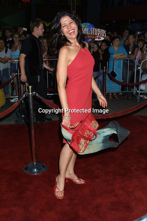 ©2002 KATHY HUTCHINS / HUTCHINS PHOTO .APOLLO 13 THE IMAX EXPERIENCE.UNIVERSAL CITY, CA.SEPTEMBER 12, 2002..MARIA CONCHITA ALONSO
