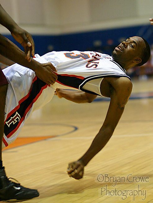 "December 16, 2006,Fullerton, Ca; The CSUF Titans defeated the Bethune-Cookman Warriors 94-65.The Titan's Bobby Brown had a "" Career "" night scoring 47 points on 17-20 from the Floor. The point total and 3 pointers made (11) were both school records. The 47 points is also 2nd all time in the Big West."