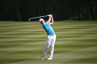 Danny Willett (ENG) plays to the 9th during Round Three of the 2016 BMW PGA Championship over the West Course at Wentworth, Virginia Water, London. 28/05/2016. Picture: Golffile   David Lloyd. <br /> <br /> All photo usage must display a mandatory copyright credit to © Golffile   David Lloyd.