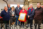 Pictured at the commeration of the sinking of the Lusitania on Valentia Island on Saturday were l-r; Michael Egan, Leonard Corcoran, Maureen Corcoran, Denis Murphy, Helen O'Connor, Tom & Colin O'Connor.