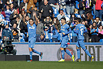 Getafe CF's Jaime Mata celebrates goal during La Liga match. February 09,2019. (ALTERPHOTOS/Alconada)