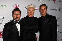 Beverly Hills, CA - OCT 06:  Mattia Dissi, Brigitte Nielsen, and Douglas Meyer attends the 2018 Carousel of Hope Ball at The Beverly Hitlon on October 6, 2018 in Beverly Hills, CA. <br /> CAP/MPI/IS<br /> &copy;IS/MPI/Capital Pictures